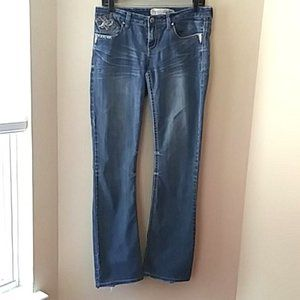 Hydraulic bootcut woman design jean size 8